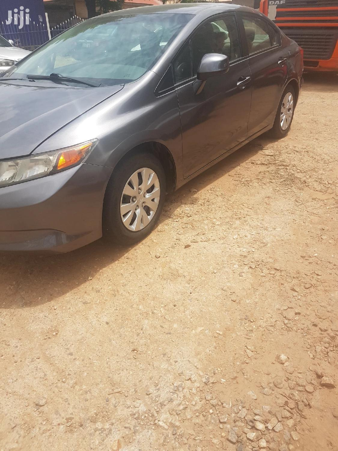 Honda Civic 2012 1.8 5 Door Gray | Cars for sale in Ga West Municipal, Greater Accra, Ghana