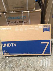 """Quality Fresh In Box Samsung 43""""Smart 4K UHD Satellite Audio Out Tele 