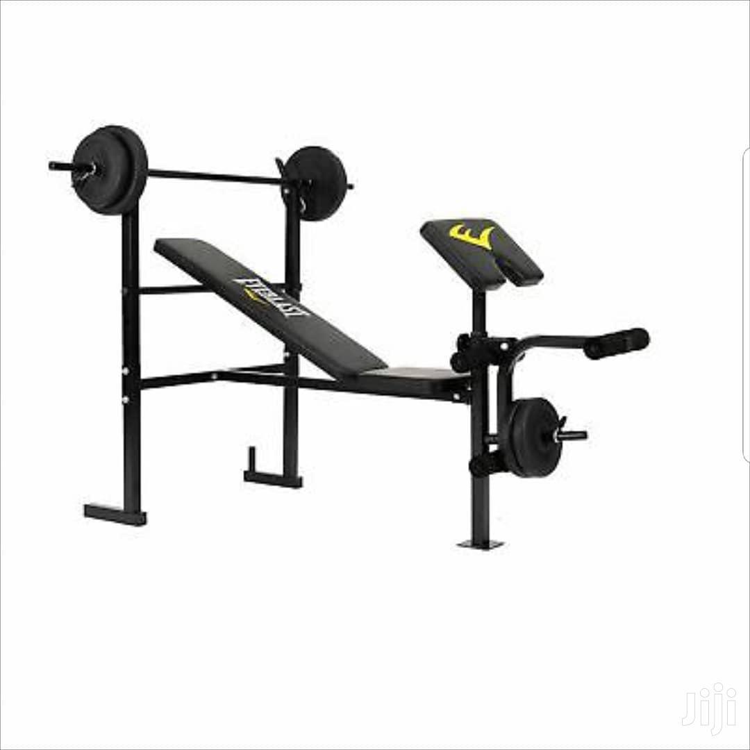 Everlast Gym Bench New Dumbells 20kg