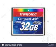 32gigcf Transcend Memory Card | Photo & Video Cameras for sale in Greater Accra, Achimota