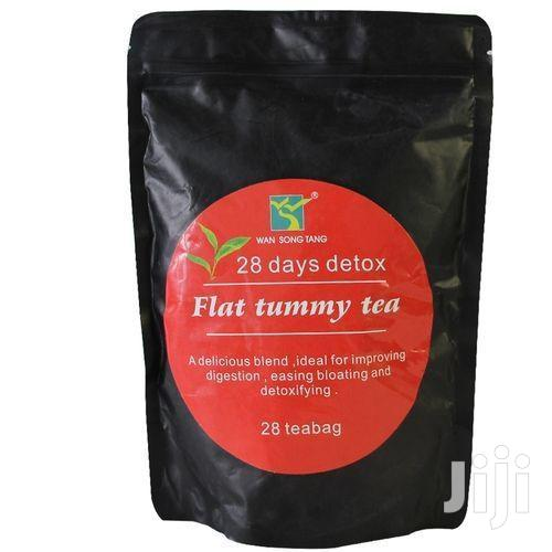 Wan Song Tang Effective 28 Days Detox Flat Tummy Tea - 28 Tea Bags