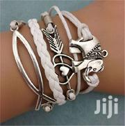 Friendship Leather Charm Bracelet Plated Silver   Jewelry for sale in Greater Accra, Ga South Municipal