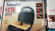 Sonifer 3 in 1 Sandwich Maker | Kitchen Appliances for sale in Greater Accra, Akweteyman