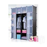 20 Cubes Plastic Wardrobe - Black | Furniture for sale in Greater Accra, Tema Metropolitan