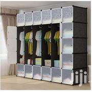 30 Cubes Plastic Wardrobe - Black | Furniture for sale in Greater Accra, Tema Metropolitan