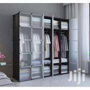 25 Cubes Plastic Wardrobe -black/White | Furniture for sale in Greater Accra, Tema Metropolitan