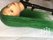 Green Braided Twist Very Nice on Light Skin | Hair Beauty for sale in Central Region, Awutu-Senya