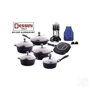 Dessini Die Cast  Set -23pcs Cookware Set
