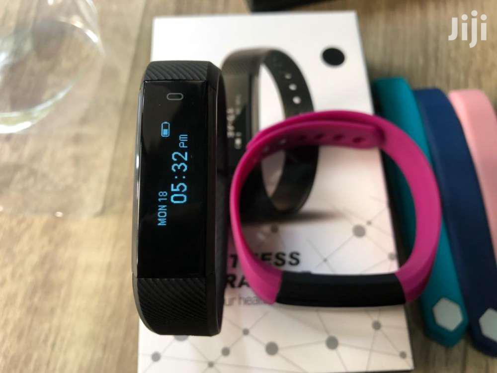 Veryfit Pro ID115 Smart Watch Fitness Tracker | Smart Watches & Trackers for sale in Airport Residential Area, Greater Accra, Ghana