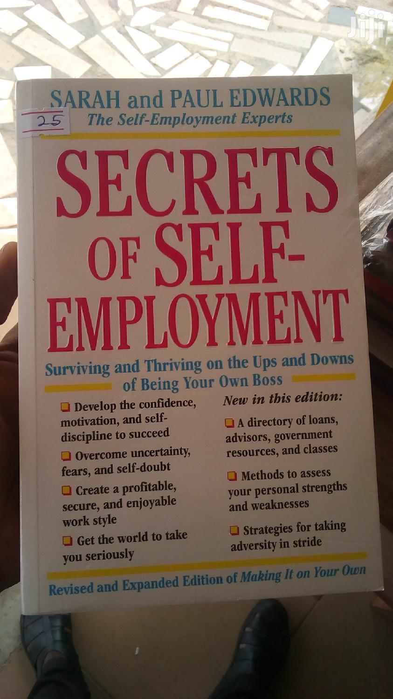 Secret to Self Emploment