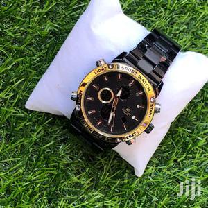 Casio Edifice Analog Digital All Black Watch