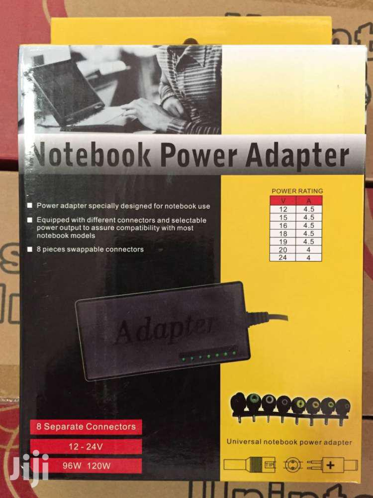 UNIVERSAL ADAPTER FOR LAPTOP 96W 8PIN | Computer Accessories  for sale in Accra new Town, Greater Accra, Ghana
