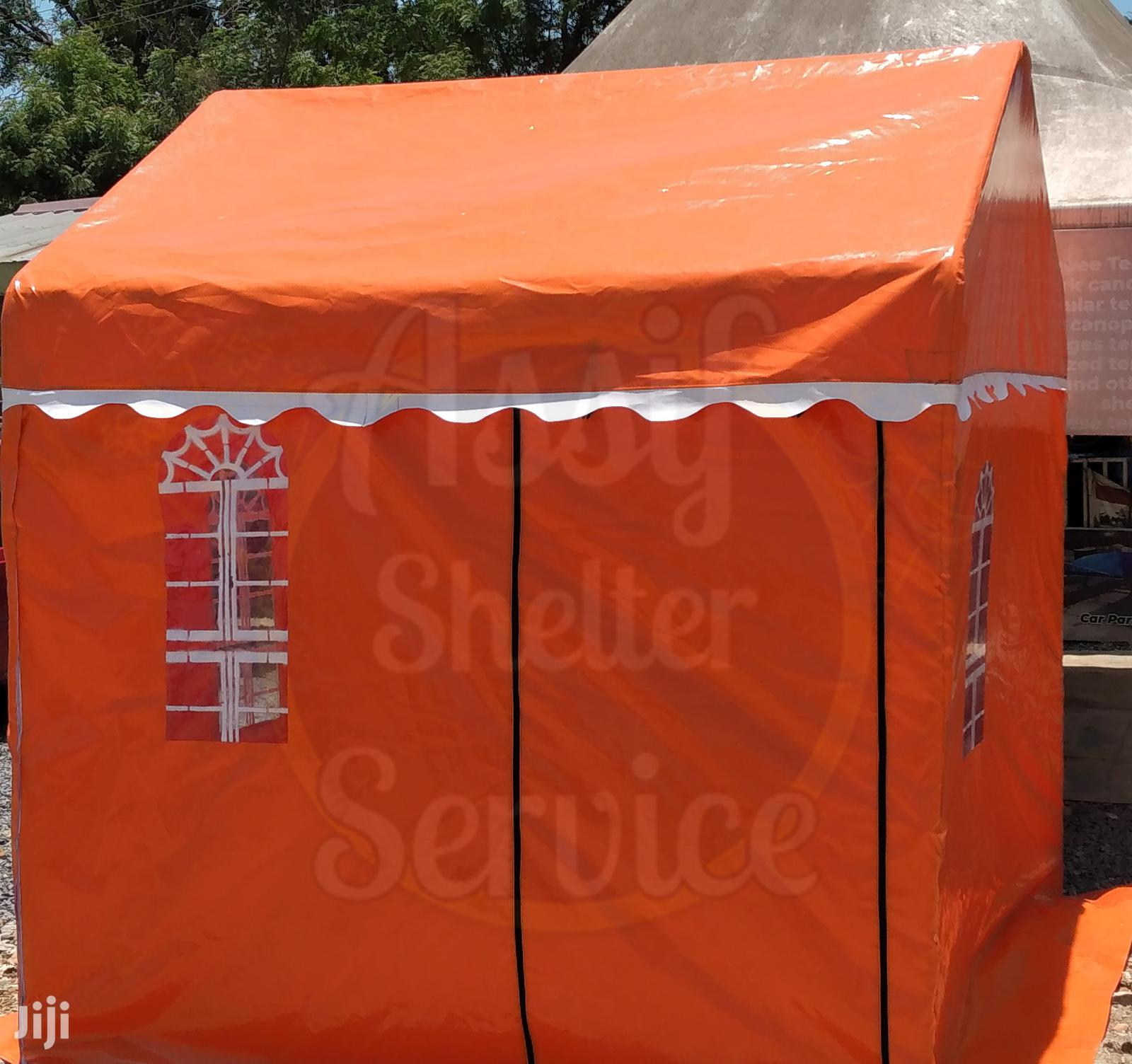 Archive: Orange Security Post Tent