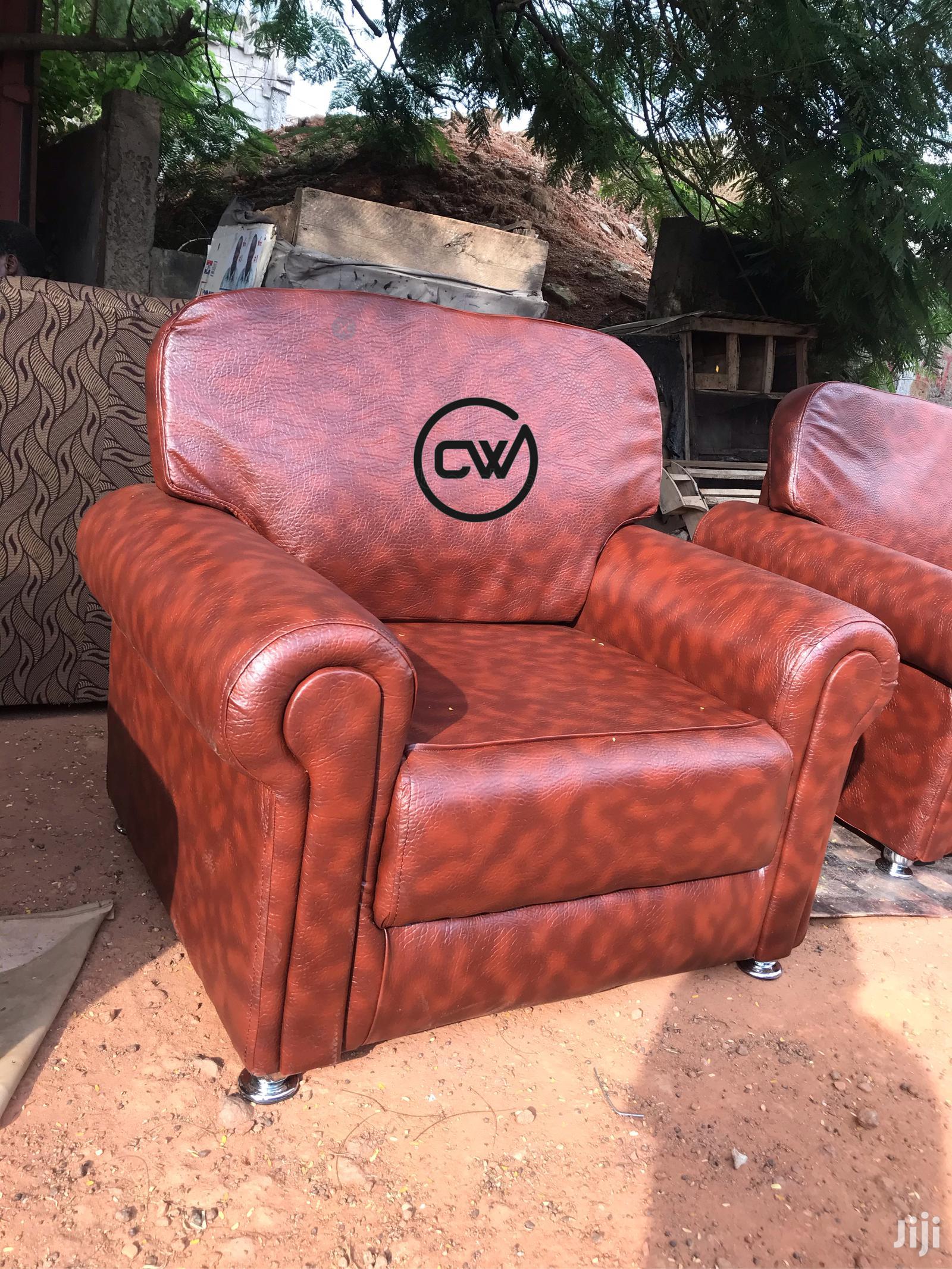 Quality Leather Sofa Set | Furniture for sale in Kumasi Metropolitan, Ashanti, Ghana