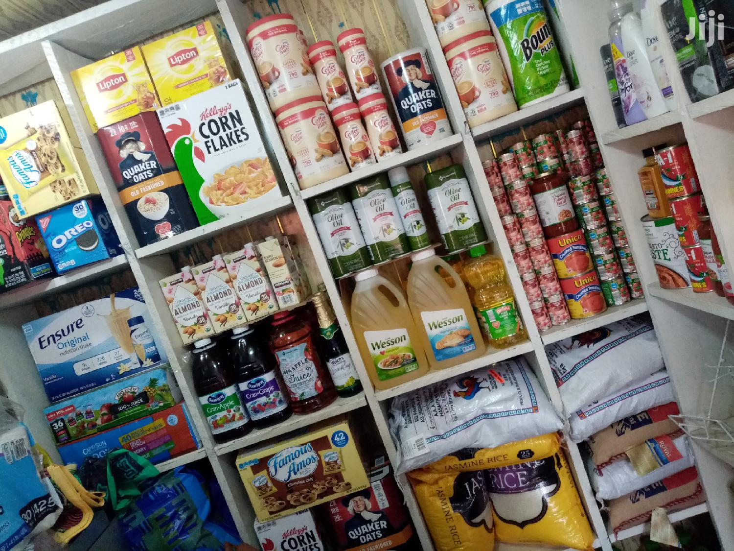 Assorted Food Items From The US