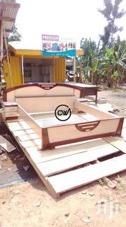 Queen Size Wooden Bed | Furniture for sale in Ashanti, Kumasi Metropolitan