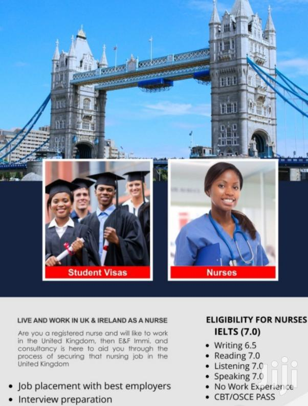 Work and Study Abroad (UK)