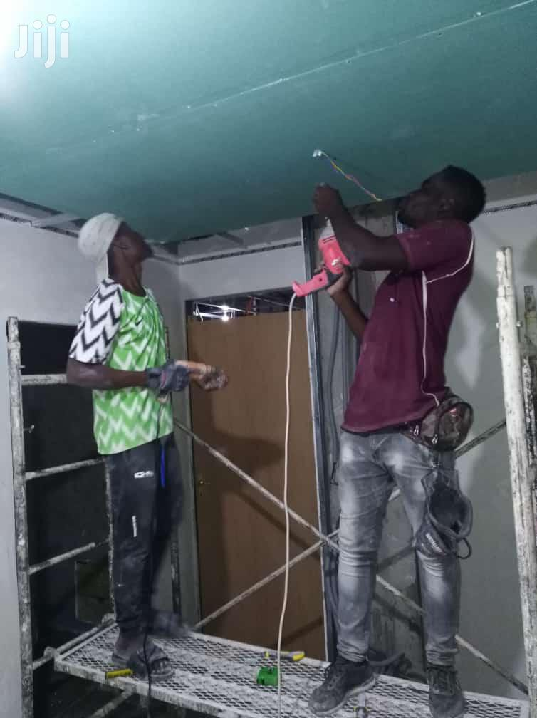 Gypsum Board Ceiling Design | Building & Trades Services for sale in Akweteyman, Greater Accra, Ghana