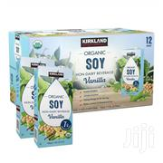 Kirkland Signature Organic Soy Beverage, Vanilla, 32 Fl Oz, 12-count | Meals & Drinks for sale in Greater Accra, East Legon