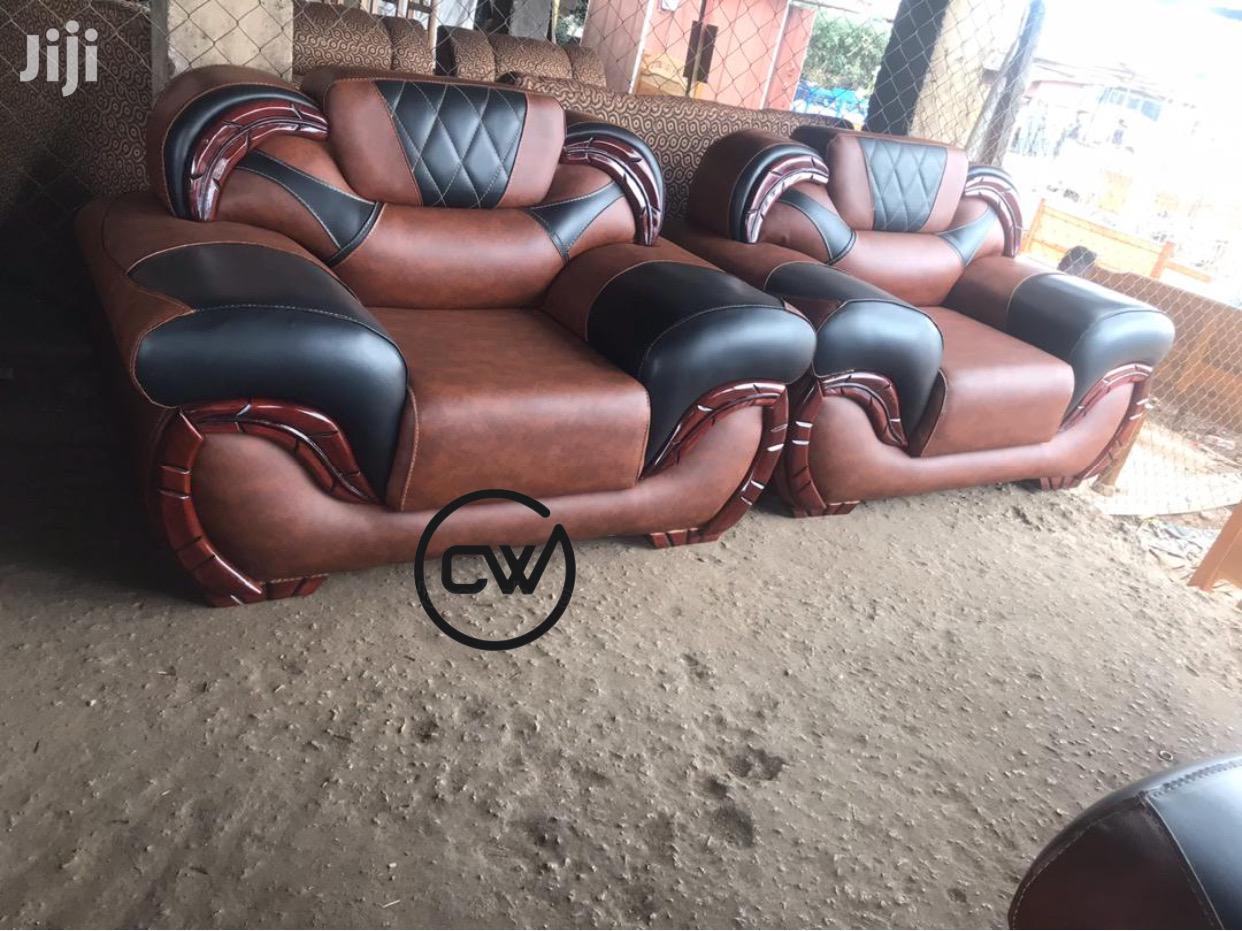 Quality Leather Sofa Set