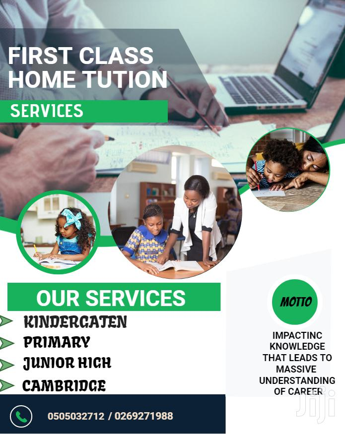 First Class Home Tution Services
