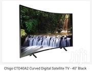 Chigo Curved Digital Satellite-40-black | TV & DVD Equipment for sale in Greater Accra, Accra Metropolitan