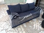 3in1 Blue Black Sofa Chair ❤🖤 | Furniture for sale in Greater Accra, Okponglo