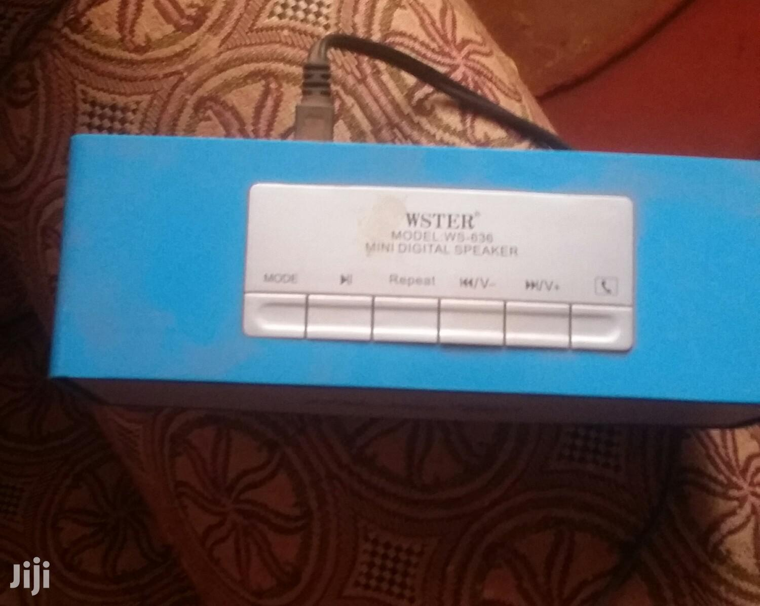 Archive: Music Box Blue Colour With Bluetooth