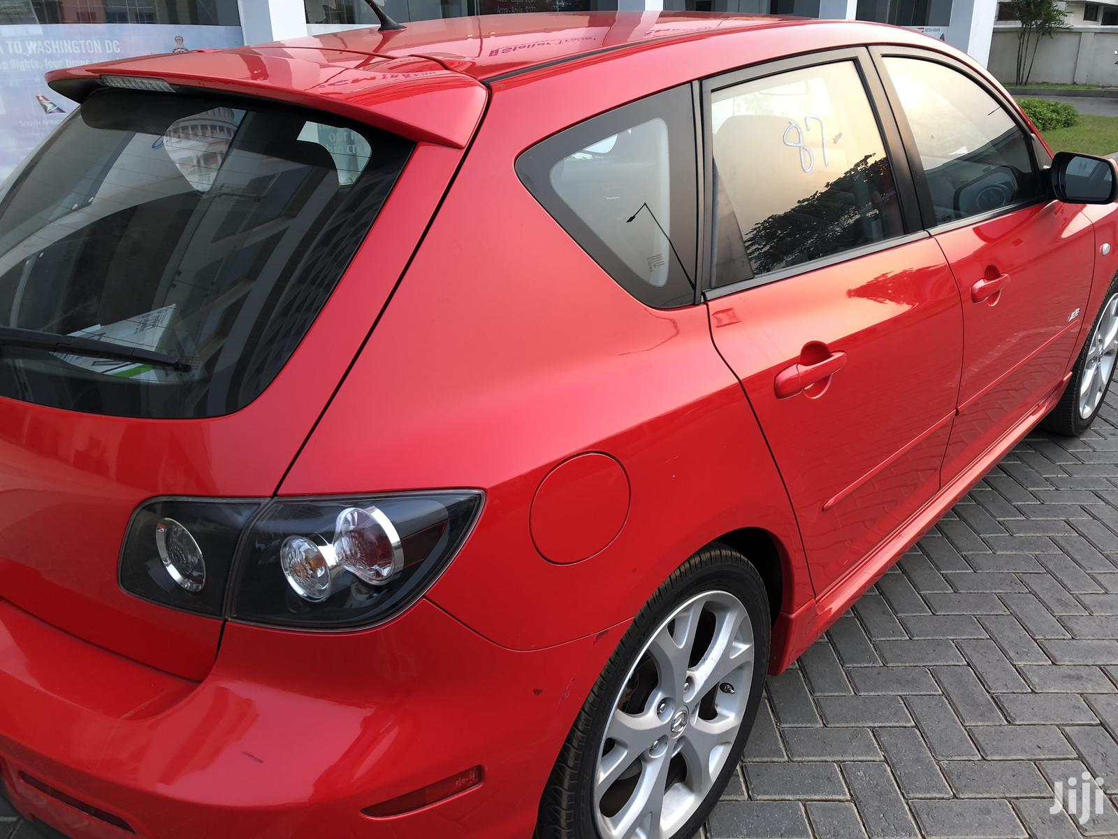 Archive: Mazda 3 2.MPS Extreme 2008 Red