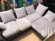 UK L Shaped Sofa Chair, With Mini Pillows. | Furniture for sale in Greater Accra, Accra Metropolitan