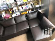 Leather L Shaped UK Sofa Chair | Furniture for sale in Greater Accra, Accra Metropolitan