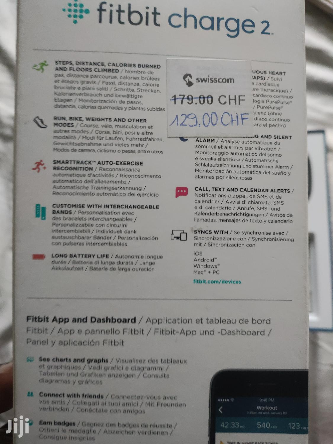 Archive: Fitbit Charge 2 For Quick Sale