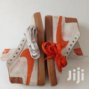 Creamy/Orange Nike SB Zoom Blazermid Sneaker | Shoes for sale in Greater Accra, Accra Metropolitan