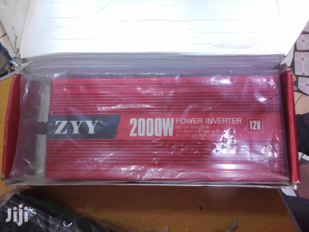 Archive: Solar Power 12v 2000w Inverter