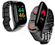 LEMFO M1 Smartwatch With Stereo Earbuds | Smart Watches & Trackers for sale in Greater Accra, Osu
