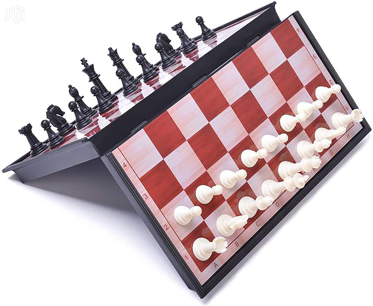 Chess Board Game _Magnetic Brown