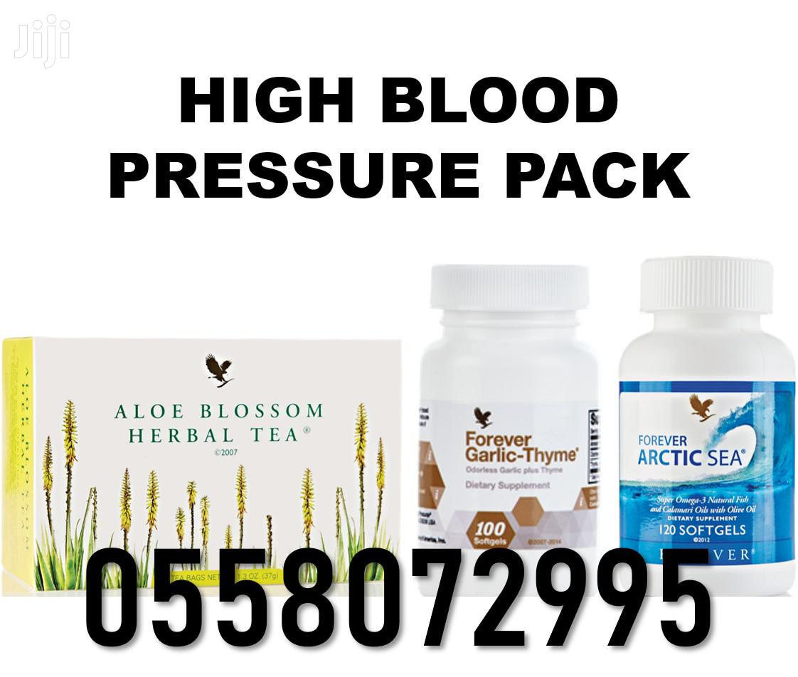 Reverse High Blood Pressure With Natural Products