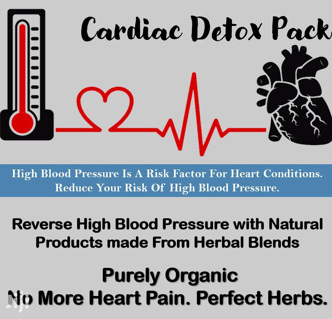 CARDIAC DETOX PACK - High Blood Pressure