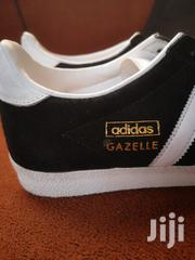 Black and White Adidas GAZELLE Trainers | Shoes for sale in Greater Accra, Dansoman