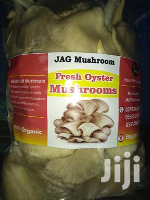 Fresh And Dried Organic Oyster Mushroom