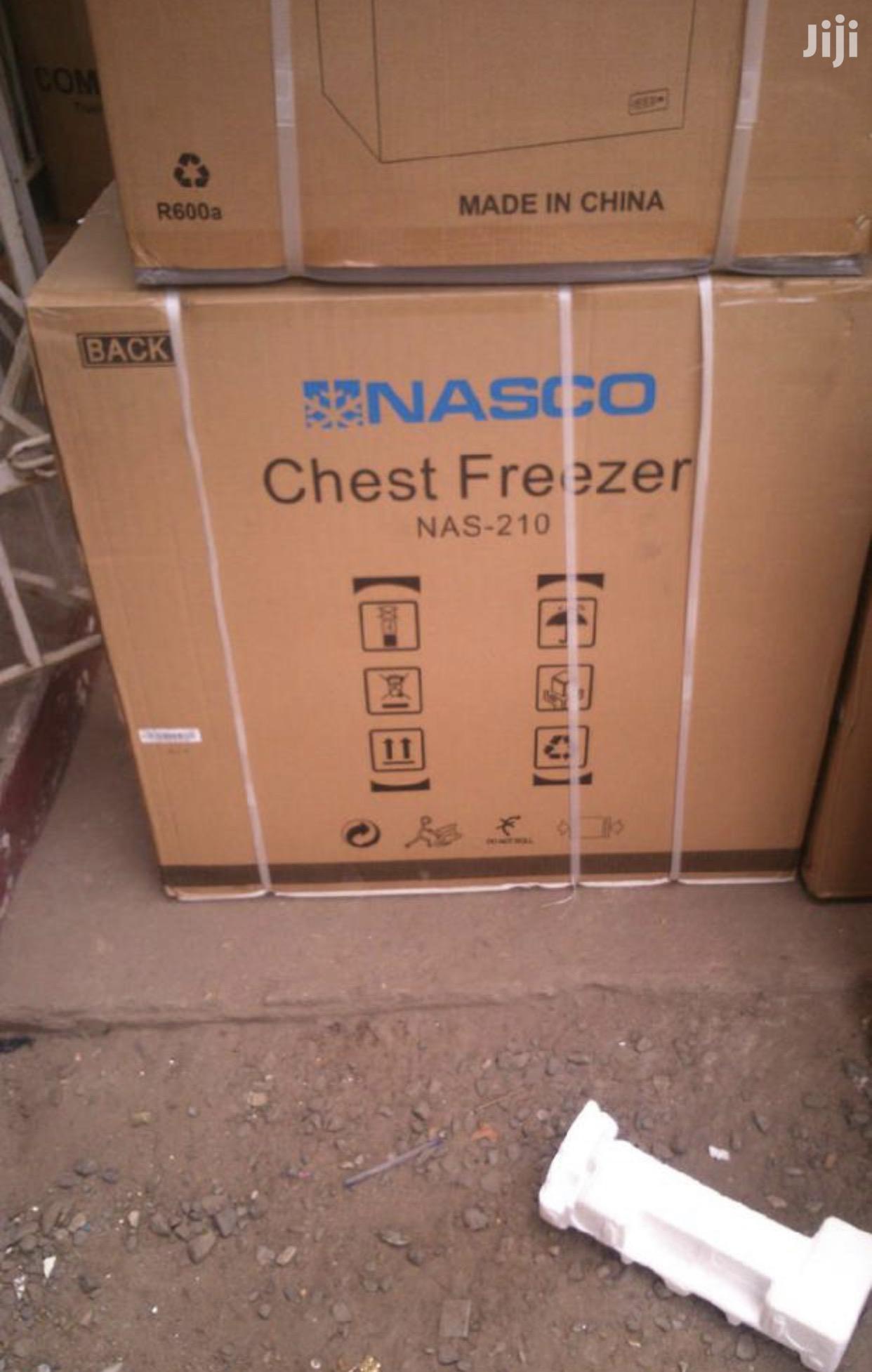 Nasco Nas 210 Chest Freezer 142L