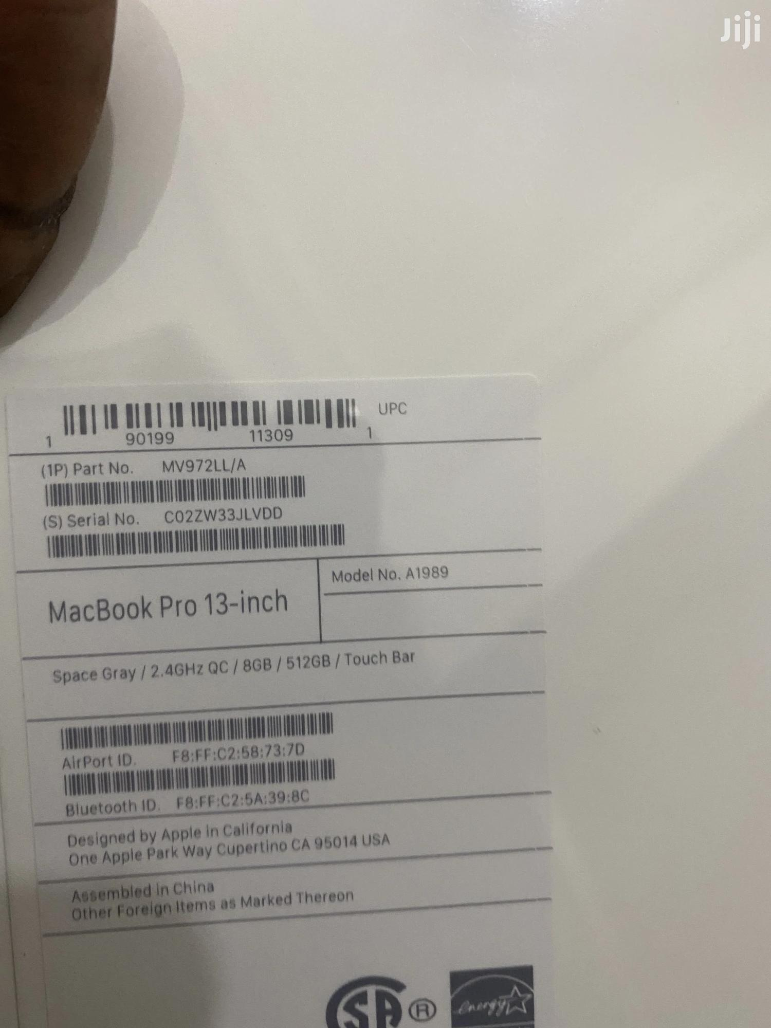 New Laptop Apple MacBook Pro 16GB Intel Core I5 SSD 512GB