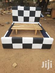 Black And White Double Bed For Sale | Furniture for sale in Greater Accra, Accra new Town