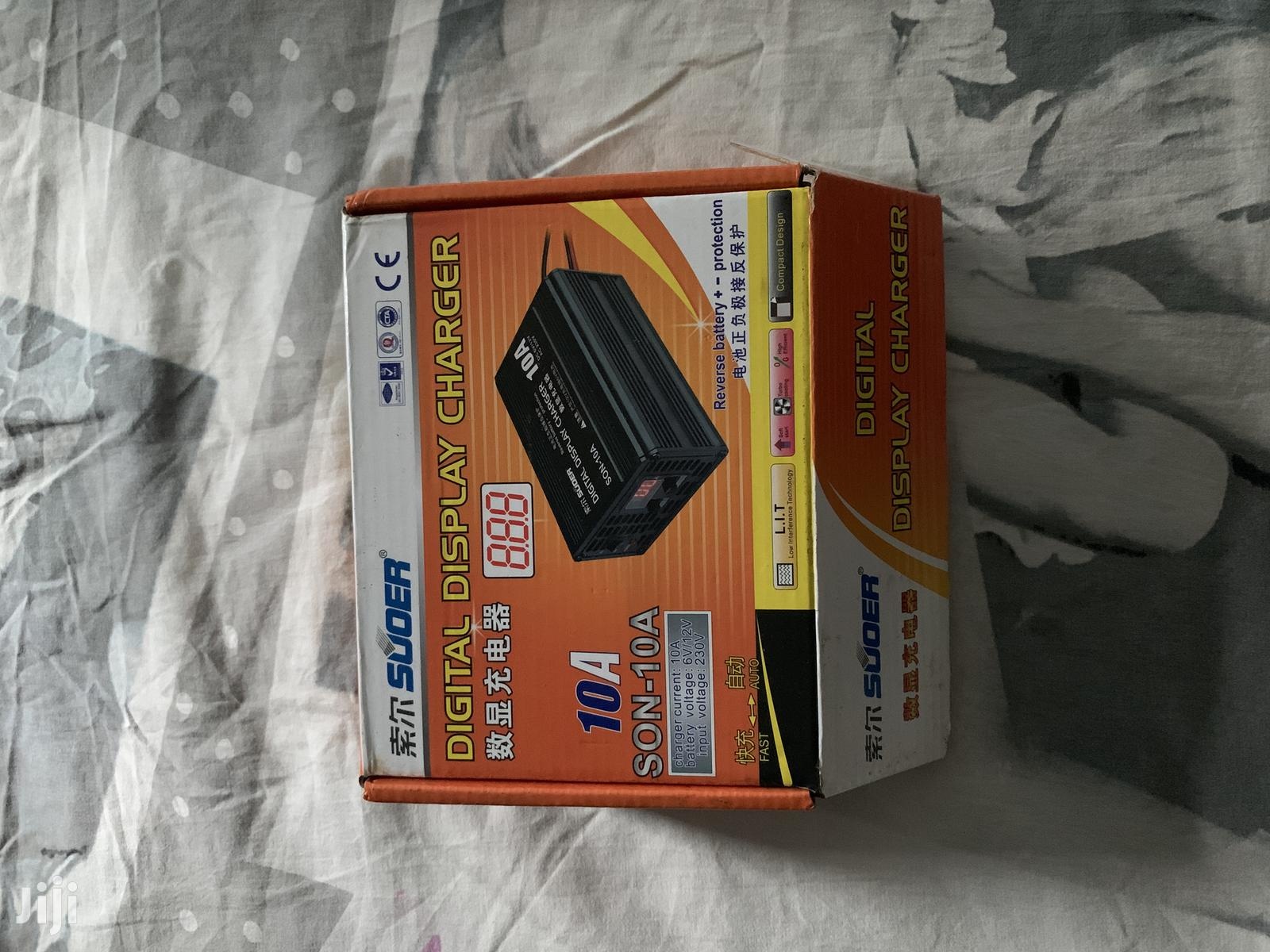 Battery Charger ( Car & Solar)