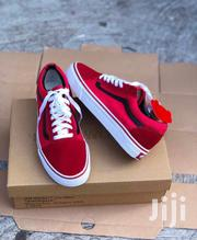 Red Old Skool Vans | Shoes for sale in Greater Accra, Accra Metropolitan