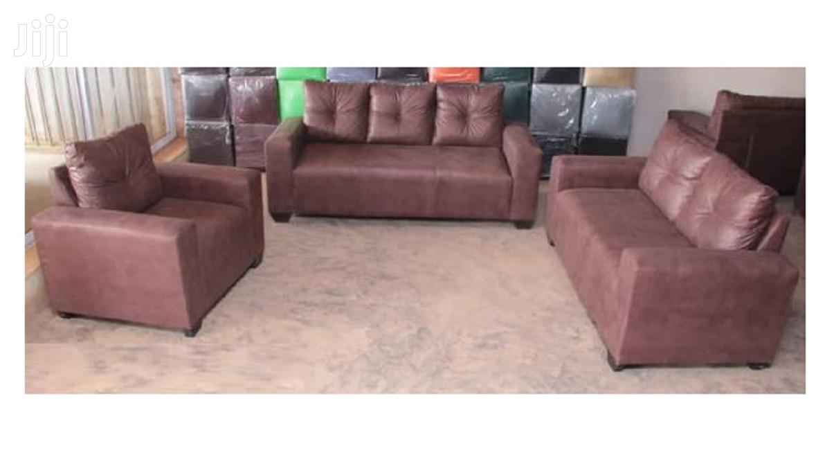 Nice Quality Leather Sofa Set