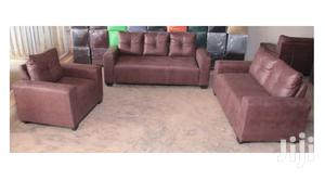 Nice Quality Leather Sofa Set | Furniture for sale in Greater Accra, Adabraka