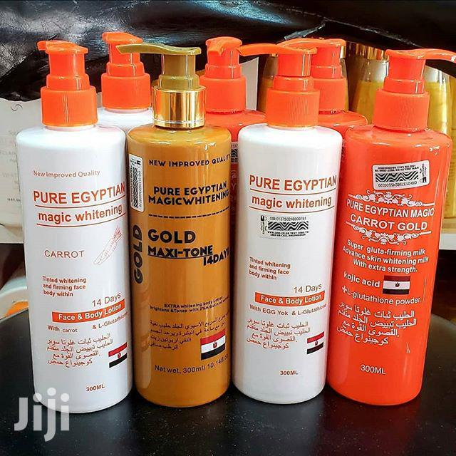 Pure Egyptian Magic Whitening Carrot Lotion | Skin Care for sale in Adenta Municipal, Greater Accra, Ghana