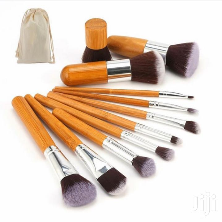 11 Pieces Kabuki Makeup Brush Set