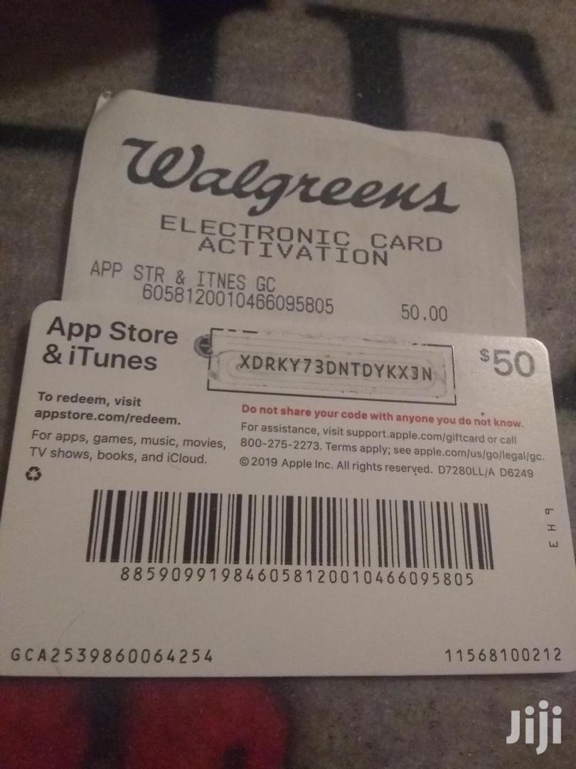iTunes Cards (USA)